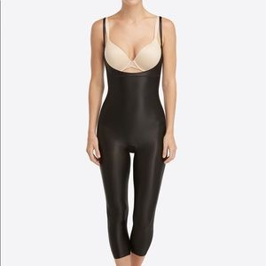 NWT SPANX Suit Your Fancy Open-Bust Catsuit